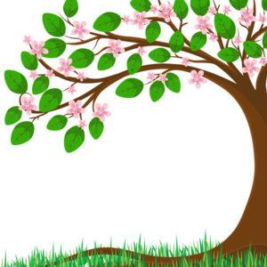 nice to have - albero con foglie e fiori