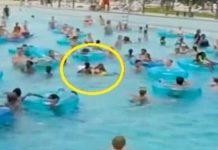 riconoscimento persone in piscina