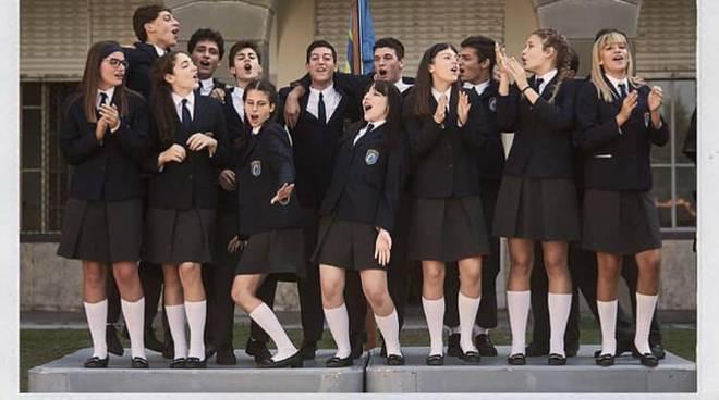 foto di classe dei ragazzi del collegio 3
